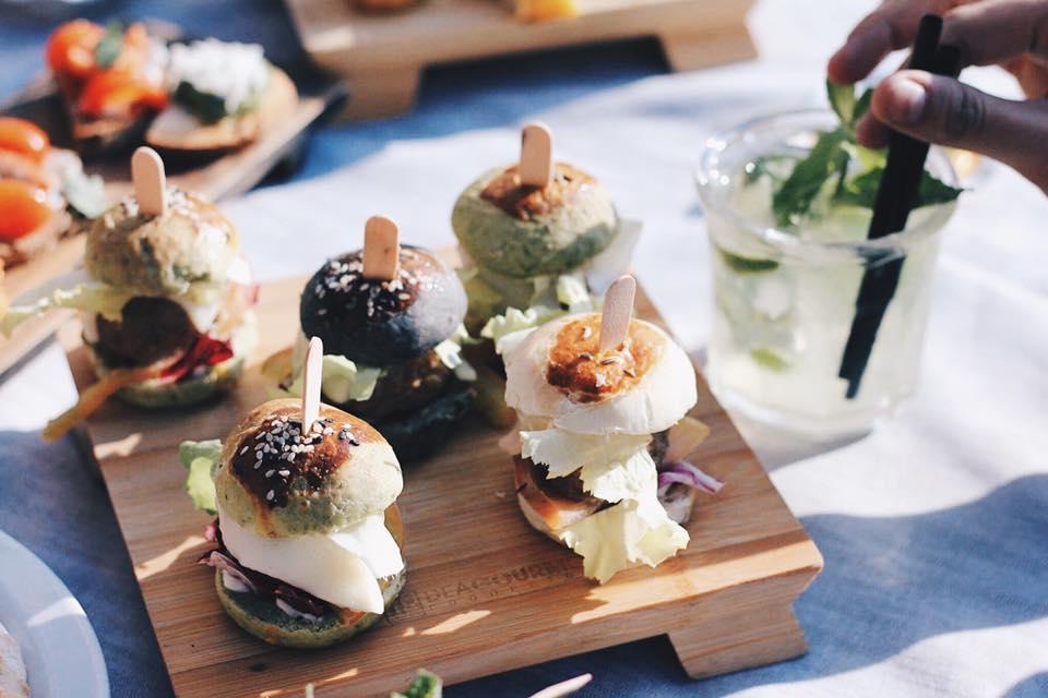 aperitivo Mini hamburger gourmet